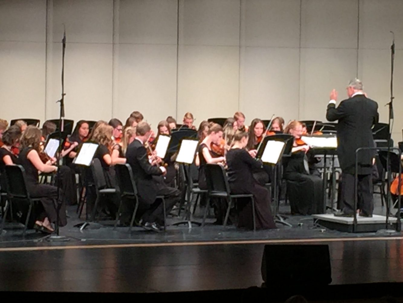 New Conductor Leads Madison Orchestra to Success