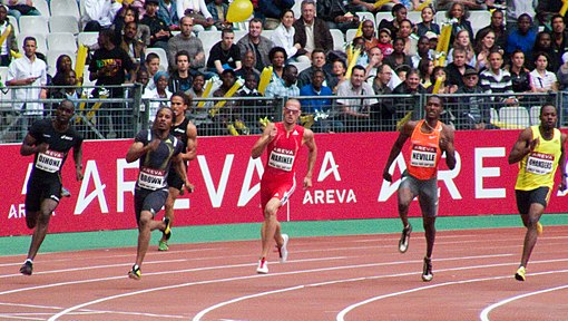 What the 400 meter dash and life have in common