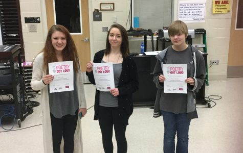MHS Sponsors National Poetry Competition