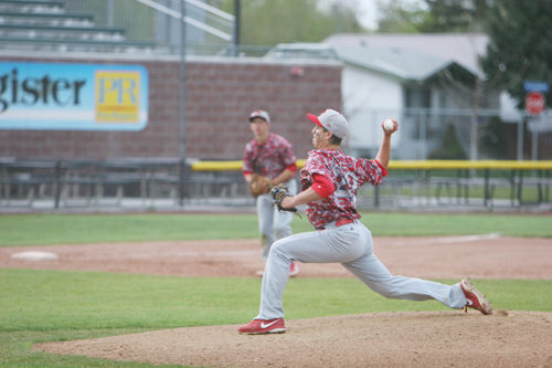 Briggs Neff releases a pitch during Skyline game in 2015. Courtesy photo: Matt Johnson