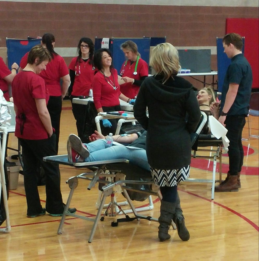 Madison High Donates Blood for Those in Need