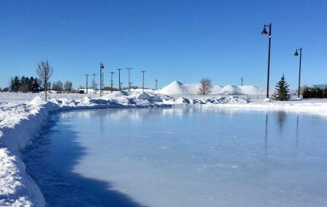 Rexburg's Free Ice Skating Rink