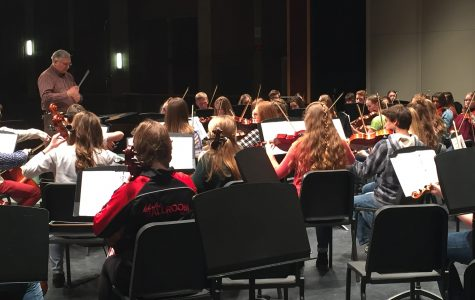 MHS Orchestra Prepares for Spring Concert