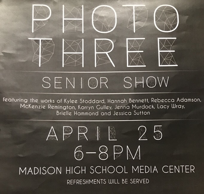 MHS Photography Students Share Thoughts on Senior Show