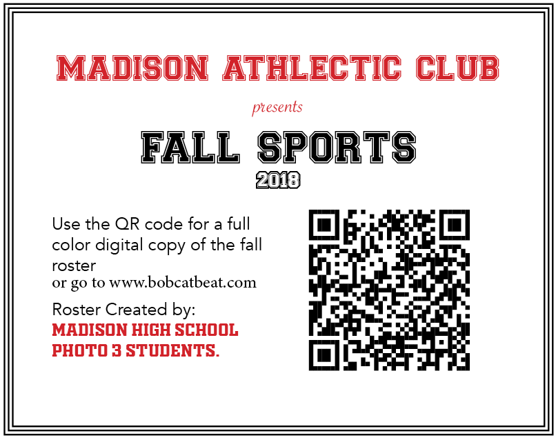 Photo 3 creates full color Fall Sports Roster