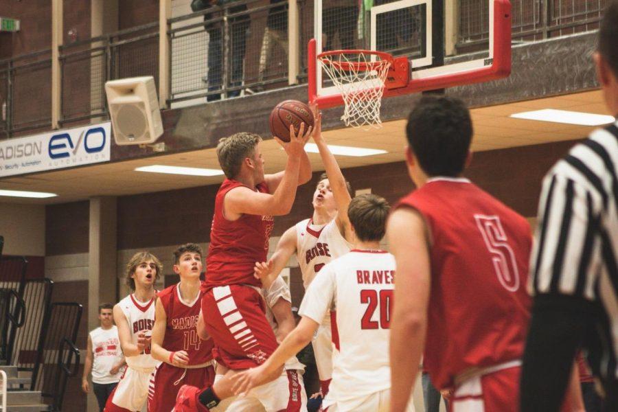 Boys Basketball v Blackfoot 12/14/2018