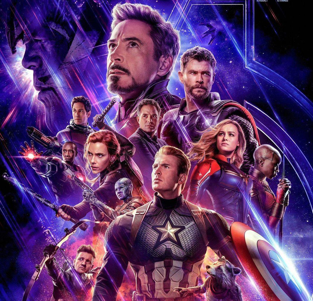 Avengers: Endgame poster.