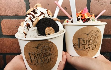 Delicious icecream from Fair Land.