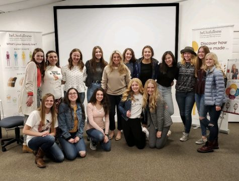 DYW participants at a hair workshop with Tami Hymas.
