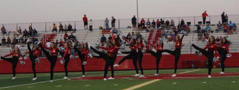 The Bobcadettes preforming last Friday.