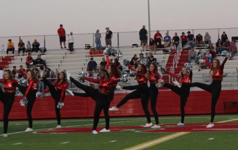 The Bobcadettes preforming last Friday.