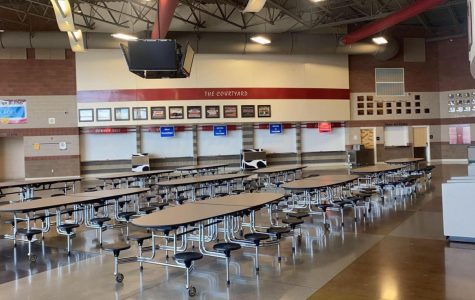 Madison High School's cafeteria.