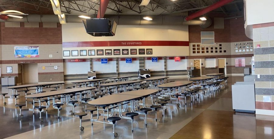 Madison+High+School%27s+cafeteria.+