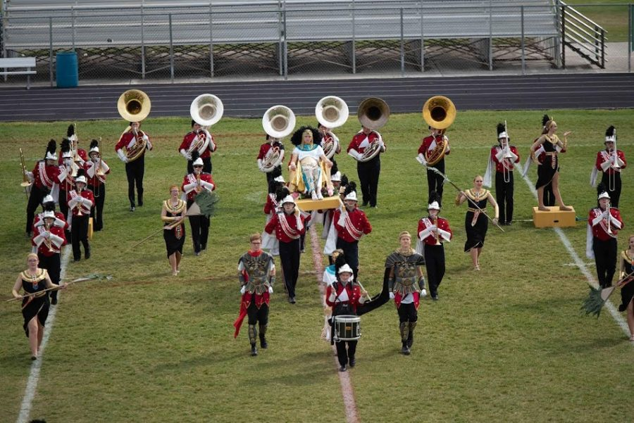 Madisons 2020 marching show