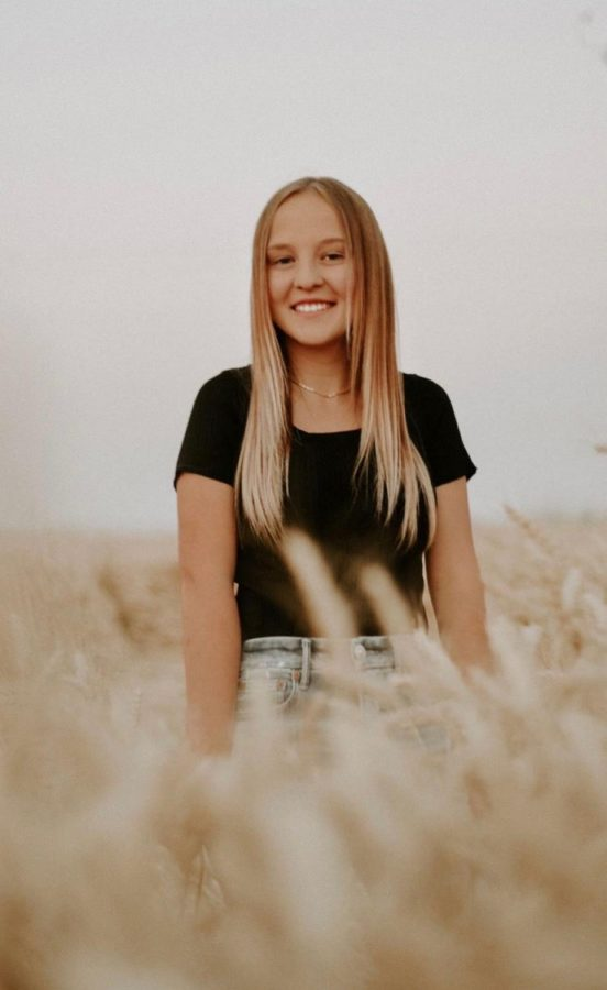 One of Brianna Erickson's Senior Photos.