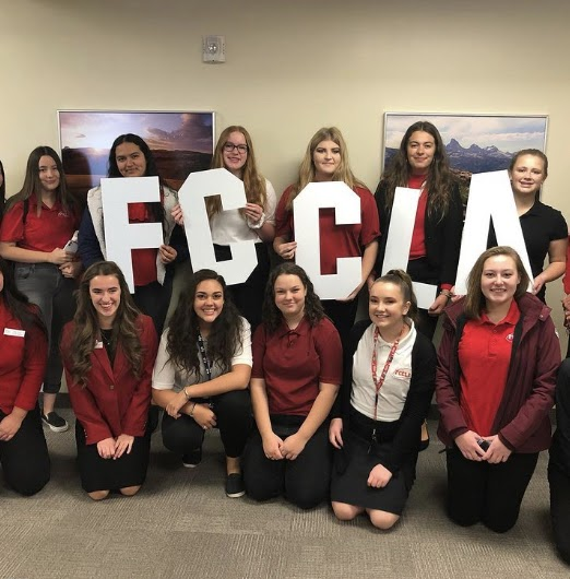 Kamila and the FCCLA Idaho falls conference in October