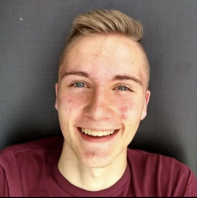 Future Student Body President Kayson Smith.